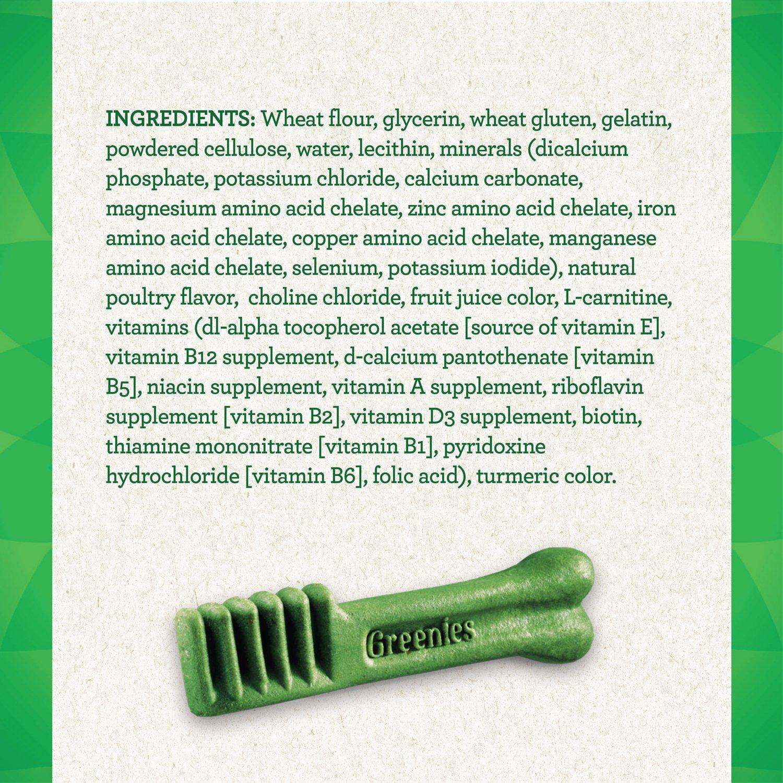 Greenies Weight Management Regular Size Dental Dog Chews - 12 Ounces 12 Treats by Greenies (Image #3)