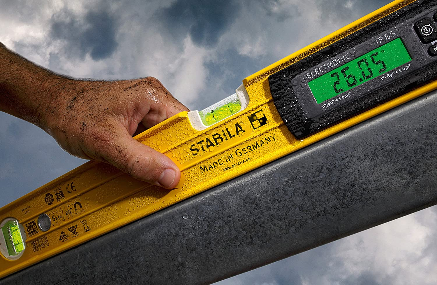 Stabila 36520 Type 96M-2 Magnetic TECH 24 Level with Case Bon Tool