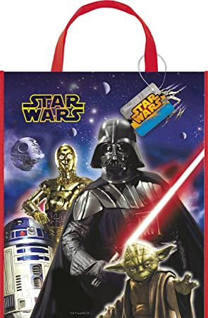 Unique Party Bolsa de Fiesta Grande de Star Wars, 33 cm x 28 ...