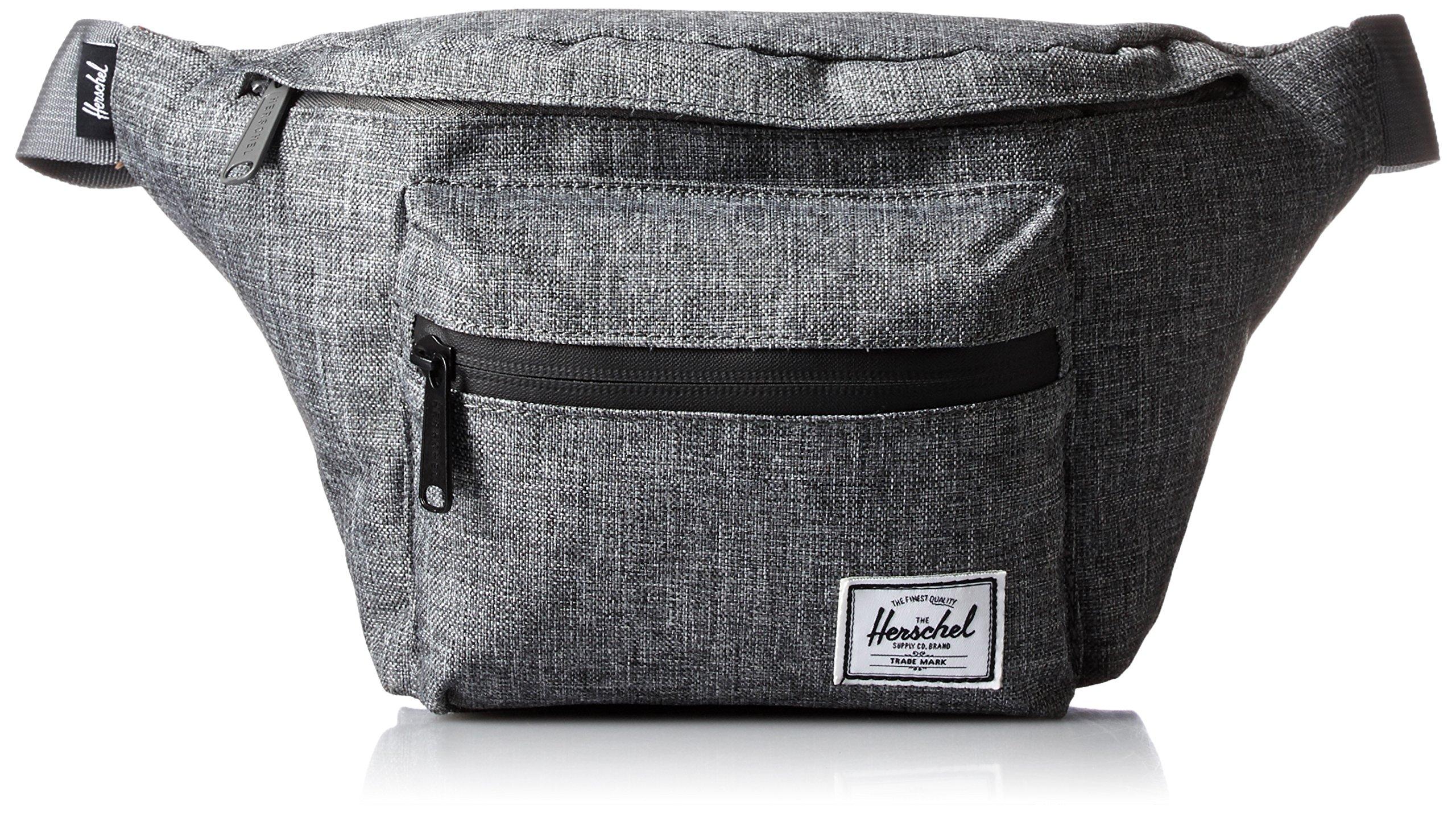 Herschel Supply Co. Seventeen Hip Pack,Raven Crosshatch,One Size