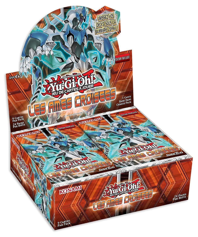Konami - Yu-Gi-Oh! - JCCYGO243_4 - Jeu 24 de cartes a jouer - Boîte de 24 Jeu Boosters - Les Ames Croisées 1ee480