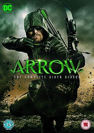 amazon com arrow season 6 dvd 2018 movies tv
