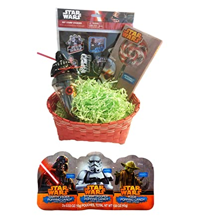 Star Wars Easter Gift Basket Set; 6 Piece Bundle with Woven Basket Easter Grass  sc 1 st  Amazon.com & Amazon.com : Star Wars Easter Gift Basket Set; 6 Piece Bundle with ...