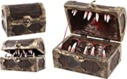 Forged Dice Co Mimic Chest Dice Storage Box - Container Holds up to 5 Sets of Polyhedral Dice or 35 Individual Dice - Fits P