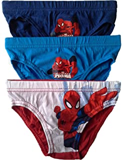 New 2018//19 Spiderman Marvel Official Boys Underwear Briefs Knickers 3-Pack Set 100/% Cotton 2-8 Years