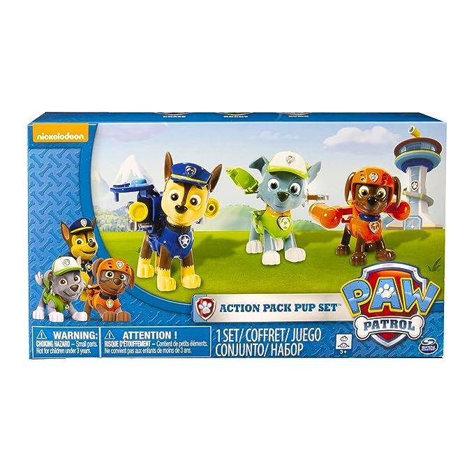150 opinioni per PAW PATROL Set 3 Cuccioli Action Pack-Chase, Rocky e Zuma, 6024061