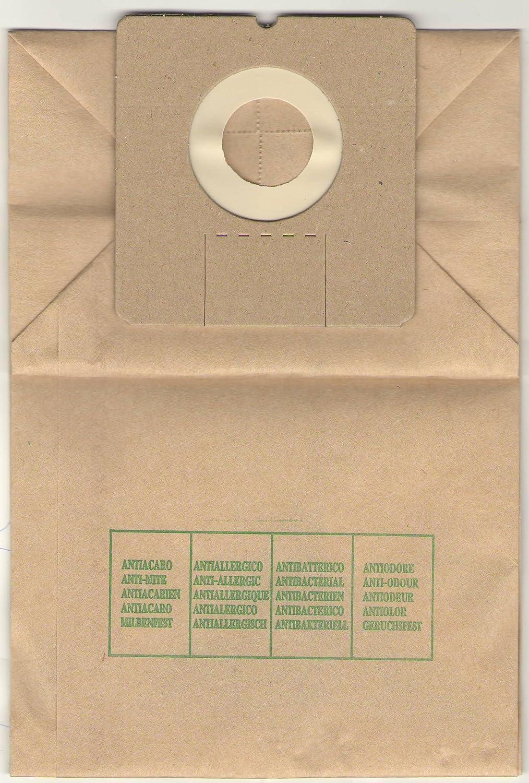 Elettrocasa TS 1 Bolsa para el polvo - Accesorio para aspiradora (Bolsa para el polvo, ALASKA BS 1200/BS 1204 E AMSTRAD VC 2002 AMSTRAD VC 2005 BIMAR ST 31 EC BOMANN CB
