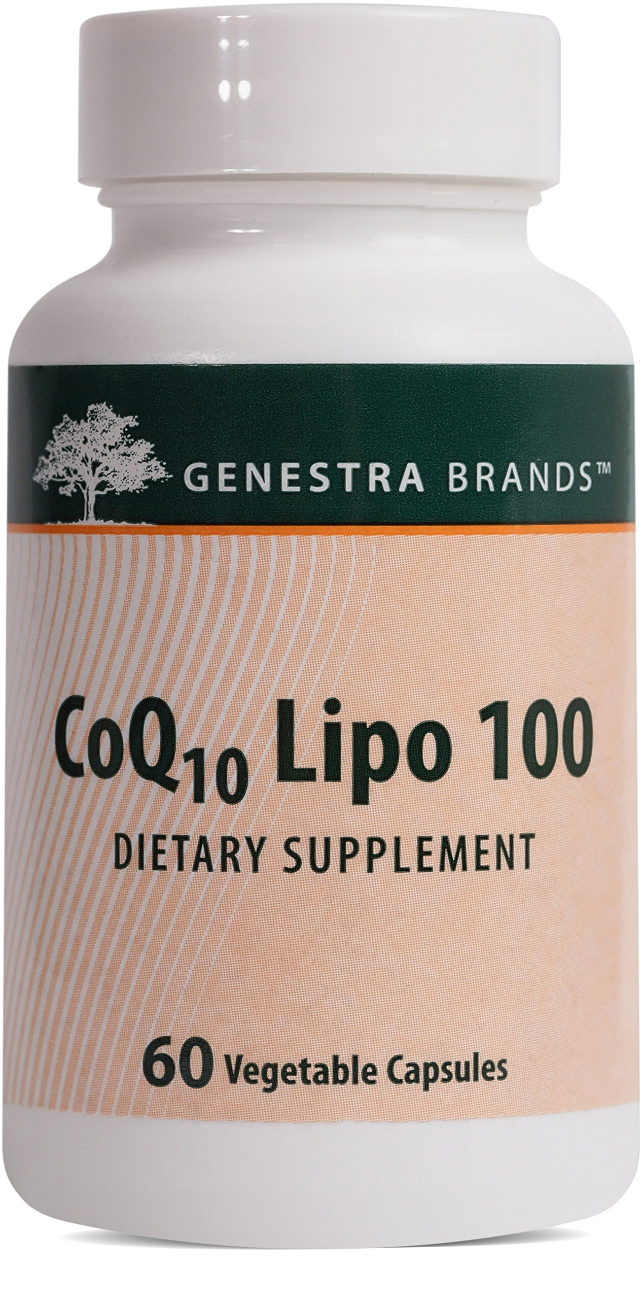Genestra Brands - CoQ10 Lipo 100 - Antioxidant Supplement - 60 Vegetable Capsules