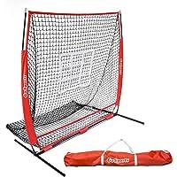 GoSports - Red de béisbol para práctica de Pelotas de béisbol y Camping, con Marco de Fiebre, Bolsa de Transporte y Zona de atracción de bonos, Ideal para Todos los Niveles de Habilidad