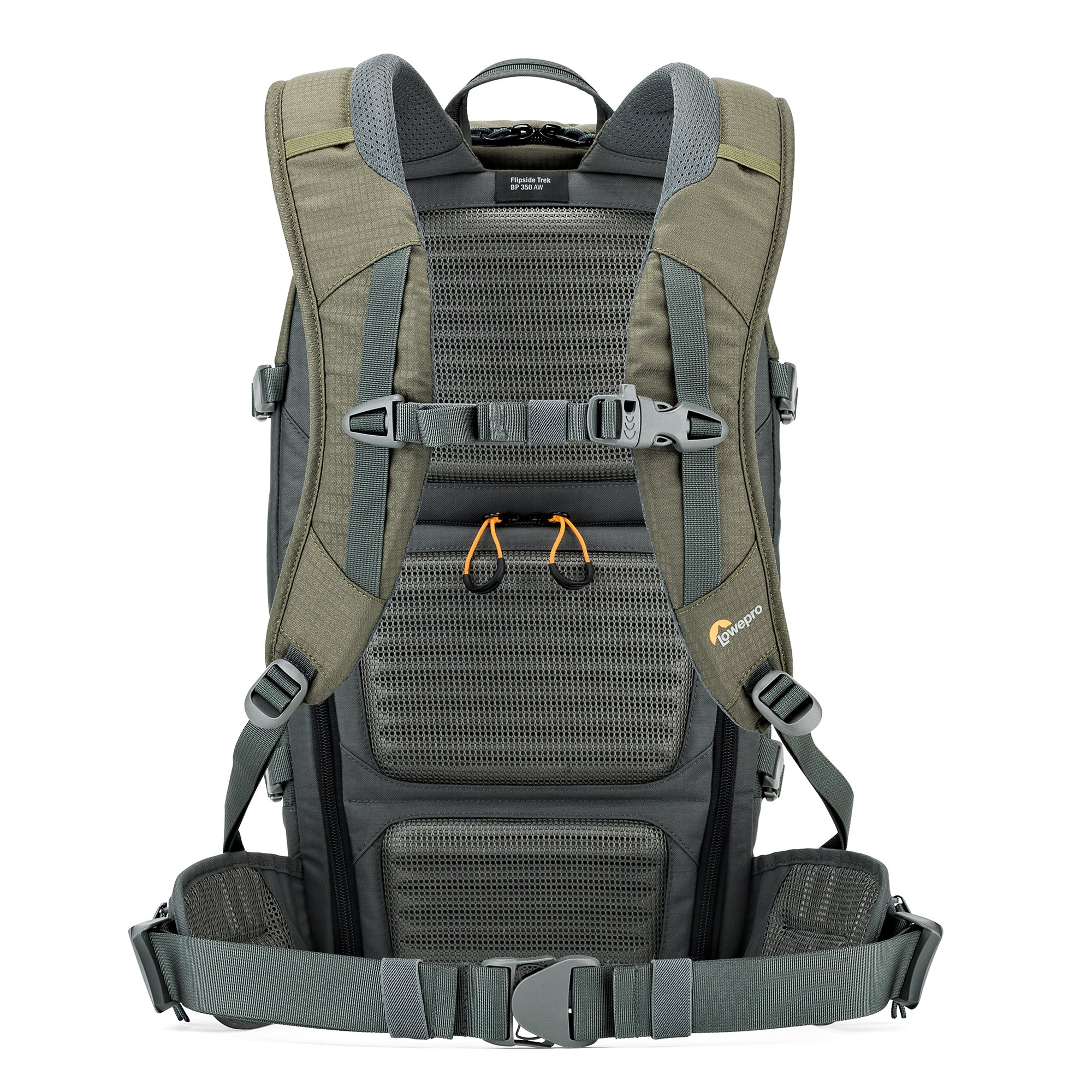 Lowepro Flipside Trek BP 350 AW. Large Outdoor Camera Backpack for DSLR and DJI Mavic Pro Drone w/ Rain Cover and Tablet Pocket by Lowepro (Image #9)