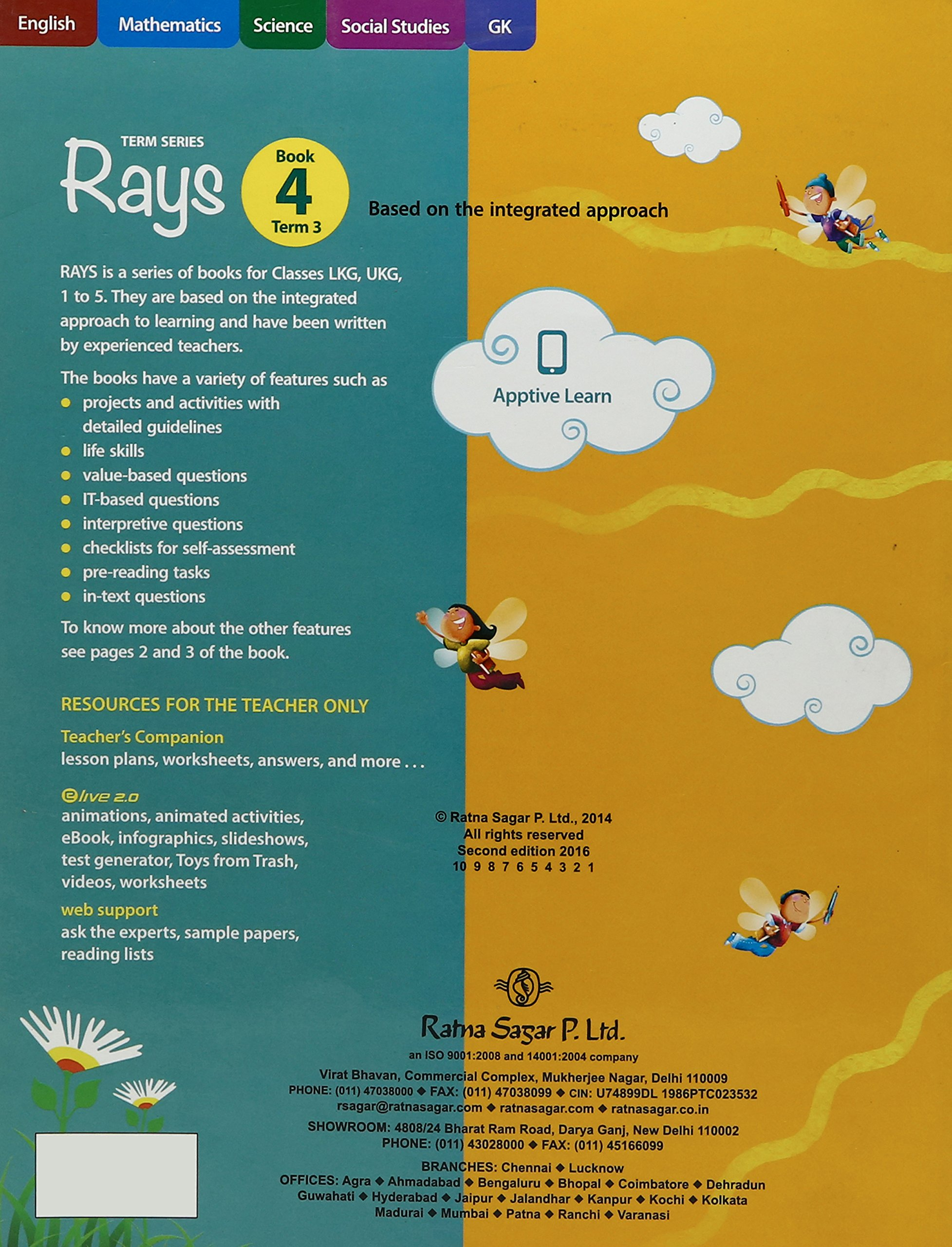 Updated Rays Book 4 Term 3 Amazonin Ratna Sagar Private Limited