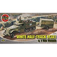 Airfix A02318 White Half Track M3A1 1:76 Scale Series 2 Plastic Model Kit