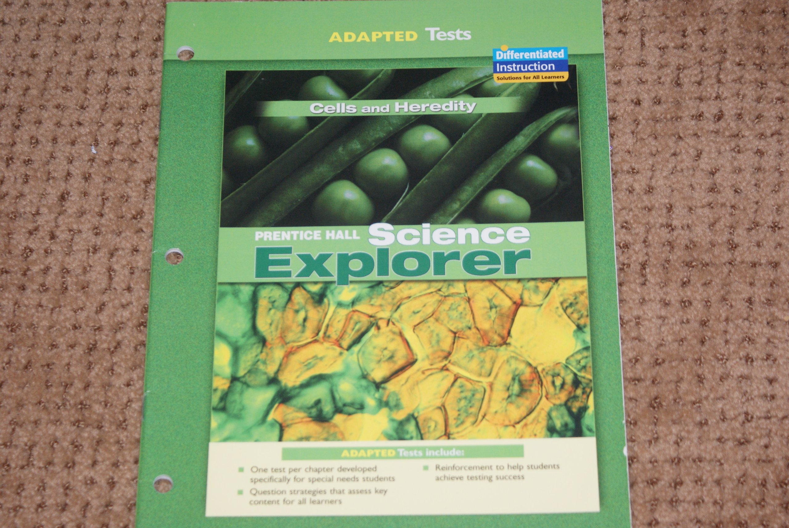 Prentice Hall Science Explorer Adapted Tests Cells and Heredity ebook