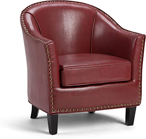 SIMPLIHOME Kildare 29 inch Wide Transitional Tub Chair
