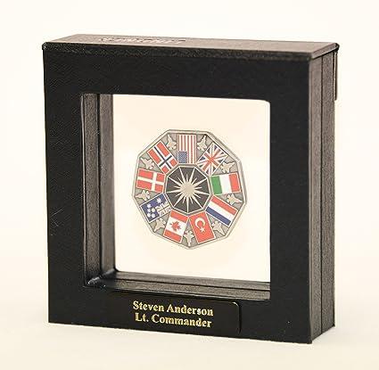 1 Single Challenge Coin Display Case Box Holder Shadowbox