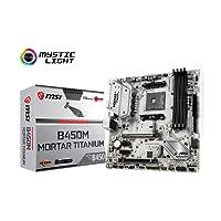 MSI B450M Mortar Titanium Carte mère AMD B450 DDR4 Socket AM4