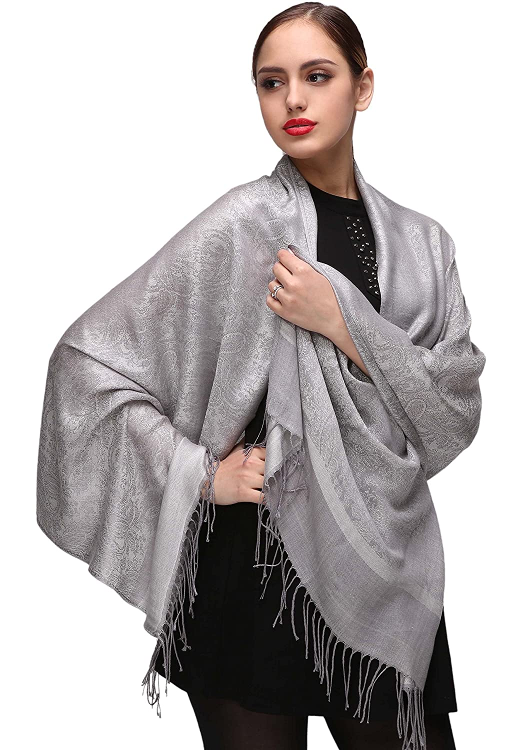 Shawls and Wraps for Evening Dresses Silver Shawls and Wraps for