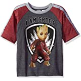 Marvel Boys' Guardians Of The Galaxy I Am Groot T-Shirt