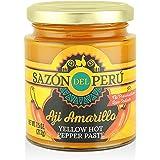 Sazón del Perú Aji Amarillo Paste Peruvian Yellow Hot Chili Pepper Paste