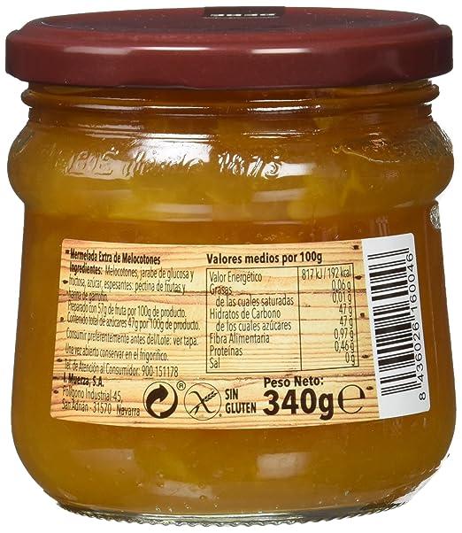 Bebe - Mermelada Melocotón Extra 340 - [pack de 3]: Amazon.es: Alimentación y bebidas