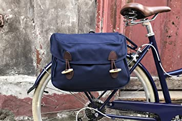 BOBBIN Bikes Toggle - Alforja Doble para Bicicleta, Azul Oscuro ...