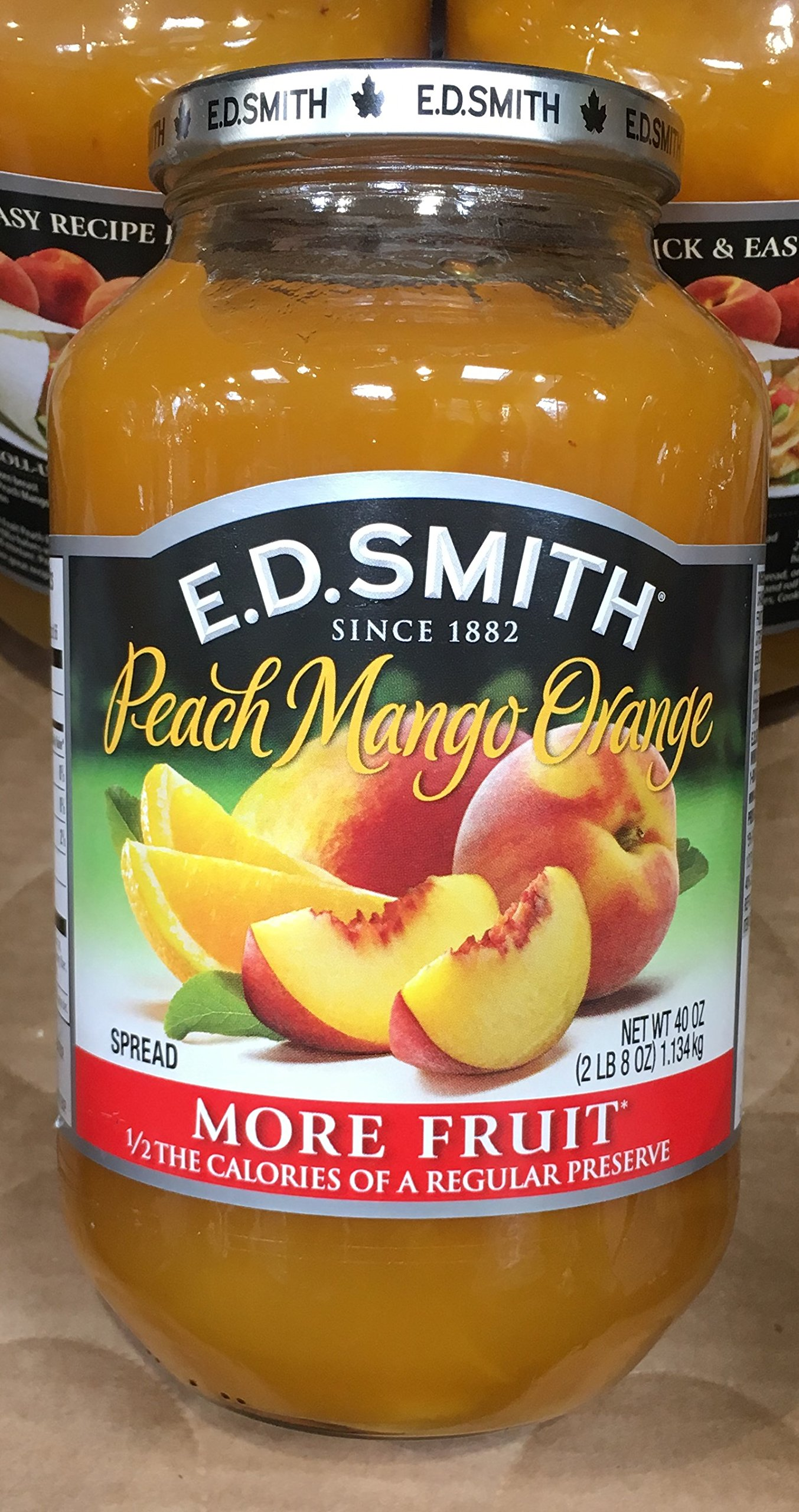 40oz ED Smith Peach Mango Orange Spread (Pack of 1) by ED Smith (Image #1)