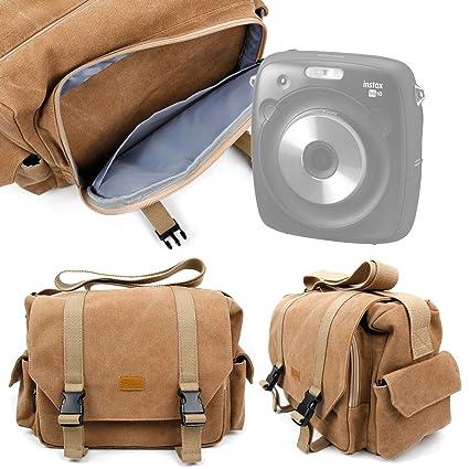 79e5d5a4af32 Amazon.com: DURAGADGET Tan-Brown Large Sized Canvas Carry Bag with ...