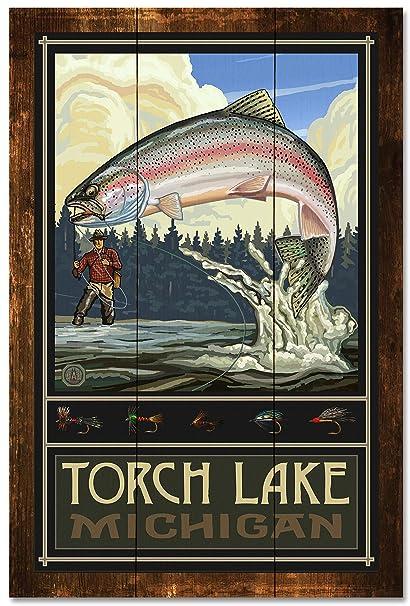 Review Torch Lake Michigan Rainbow
