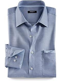 meistverkauft großhandel online offizielle Fotos Walbusch Herren Hemd Bügelfrei-Travel-Hemden Regular Fit ...
