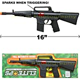 Unbranded CAR-15 Carbine M-16 Toy Assault Rifle Kid BOY Machine Gun Sound Military Army