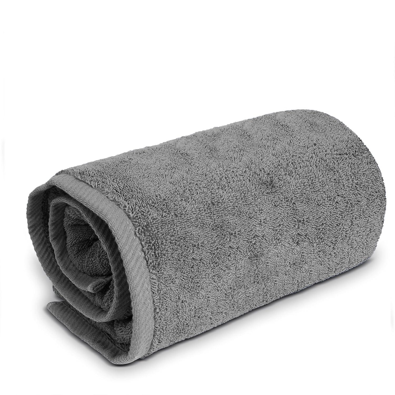 TURKUOISE TURKISH TOWEL Turkuoise Premium Quality Bath Sheet, Extra Large, 100% Turkish Cotton (White, 40x80 Inches) TRK-PLC-BS-FBA-WHT