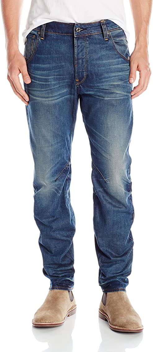 G-Star Arc 3D Loose Tapered Herren Jeans Hose W33 L32 33//32 Blau NEU GS31