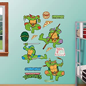 Fathead Classic Teenage Mutant Ninja Turtles Wall Decal Collection