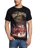 Collectors Mine Herren T-Shirt War Of The Worlds-Black Tour