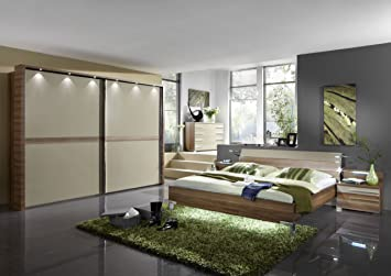WIEMANN Schlafzimmer Montreal 4-teilig mit Schwebetürenschrank ...