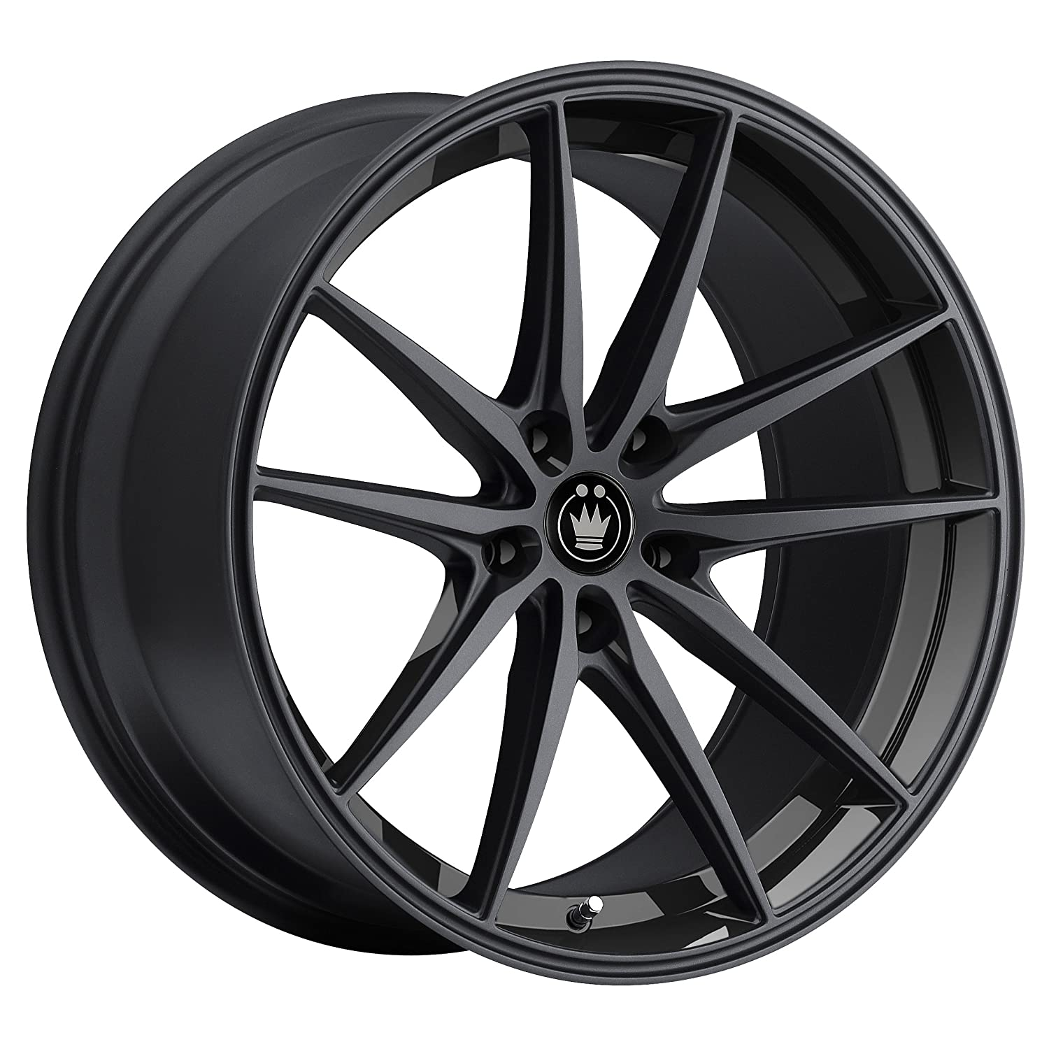 Konig OS67514405 OVERSTEER Gloss Black Wheel (16x7.5'/5x114.3mm, 45mm offset)