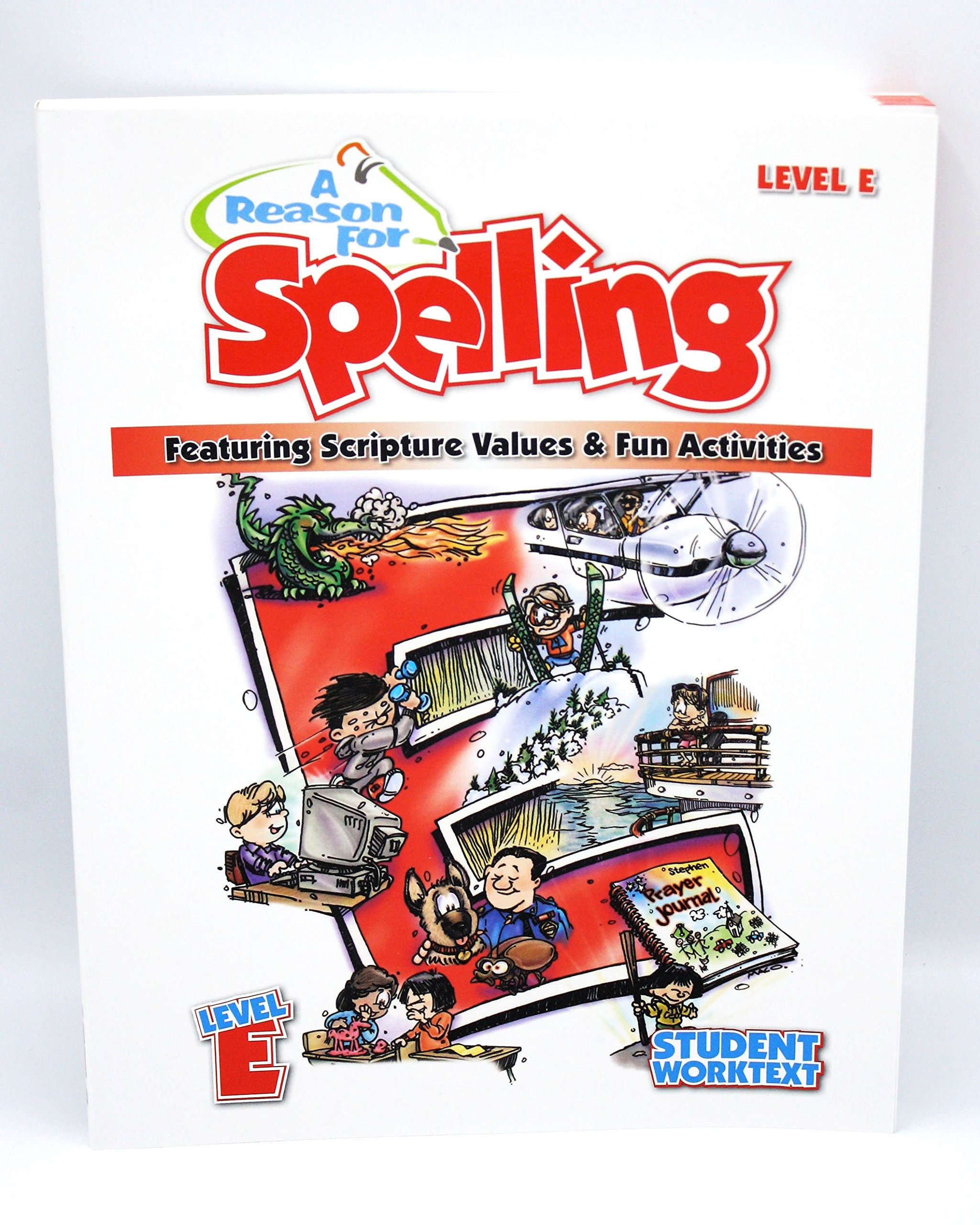 A Reason For Spelling, Level E Student Worktext (A Reason For Spelling) ebook