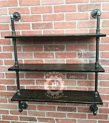 Pipe Shelf, Steampunk Furniture, Wall Shelves, Industrial Shelves,  Industrial Shelf, Pipe