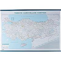 Gurbuz 22074 Türkiye Karayolları Haritası, 70x100 cm