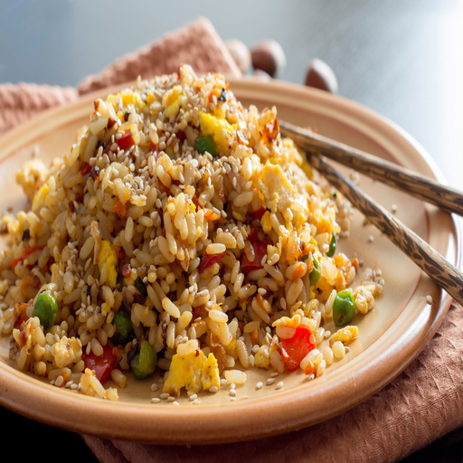 How To Make Egg Fried Rice ()