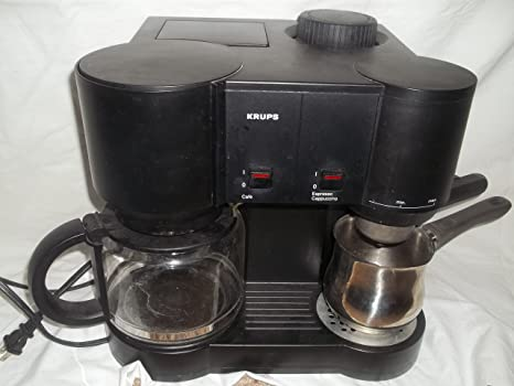 Amazon.com: Krups tipo 865 Café/Espresso Maker Machine ...