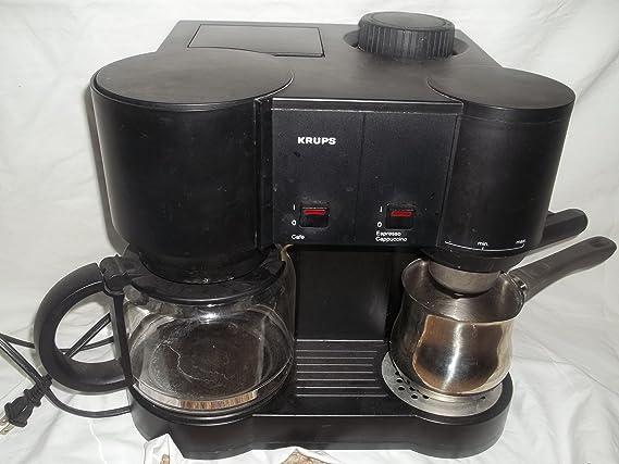 Amazon.com: Krups tipo 865 Café/Espresso Maker Machine ...