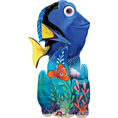 Finding Dory 55 inch Airwalker Balloon: Toys & Games