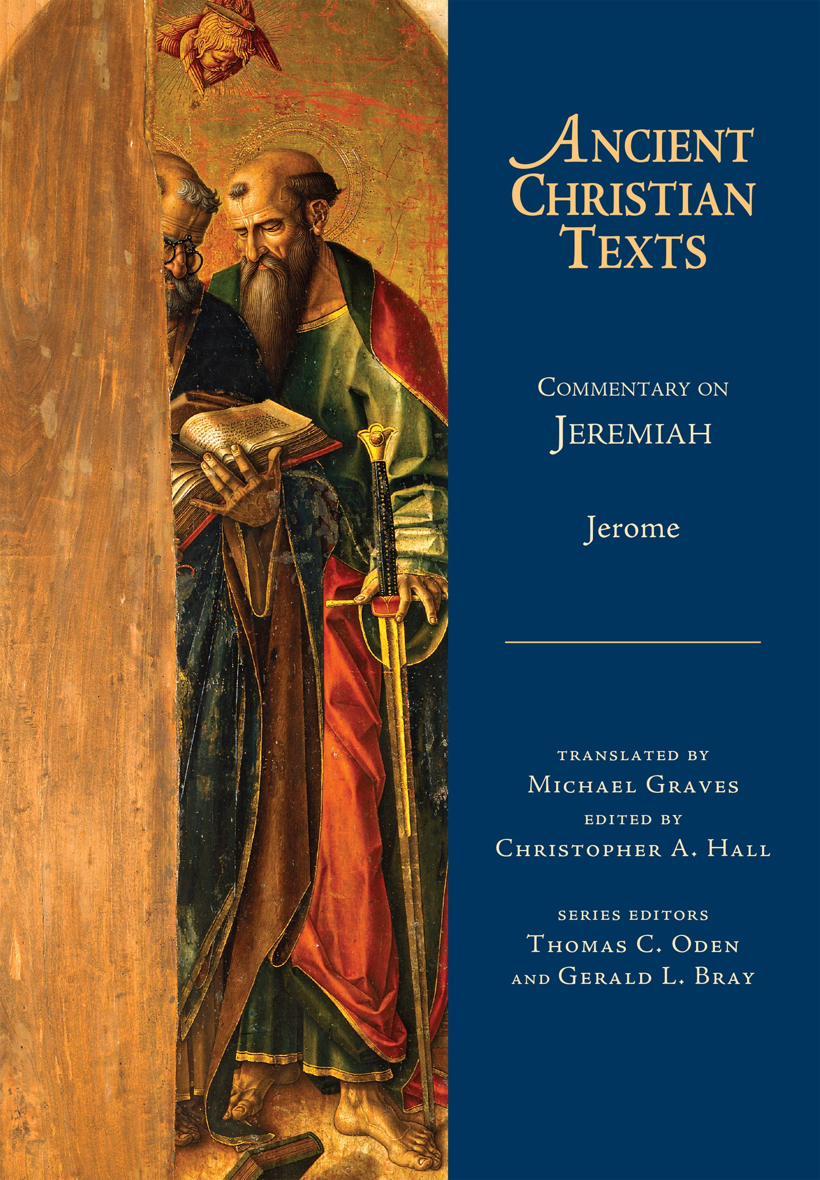 Mentary On Jeremiah Ancient Christian Texts Jerome