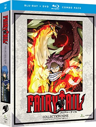 Fairy Tail: Collection Nine 8 Blu-Ray Edizione: Stati Uniti Italia Blu-ray: Amazon.es: Cine y Series TV