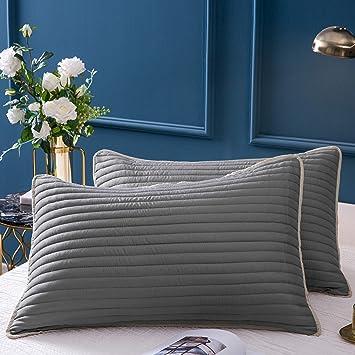 Amazon.com: AYASW - Fundas de almohada tipo pinsonic ...