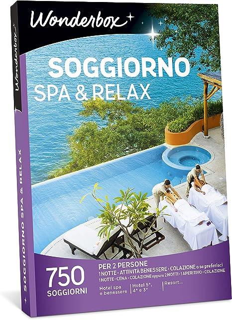 Wonderbox Cofanetto Regalo Soggiorno Spa Relax 750