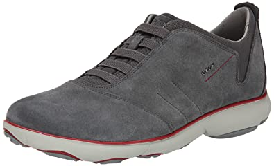 Shoes Outlet - Geox D Nebula A Navy Womens Mesh Trainers