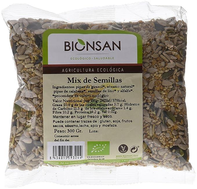 Bionsan Mix de Semillas de Girasol, Calabaza, Lino, Alfalfa y ...