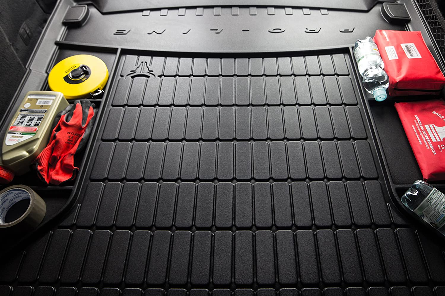 / 2014 Car Boot Liner with Organiser for Volvo V50/ 2004/